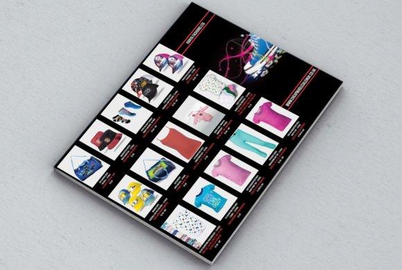 Graphic design catalog