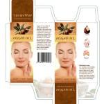 Product packaging, custom packaging graphic design argan oil