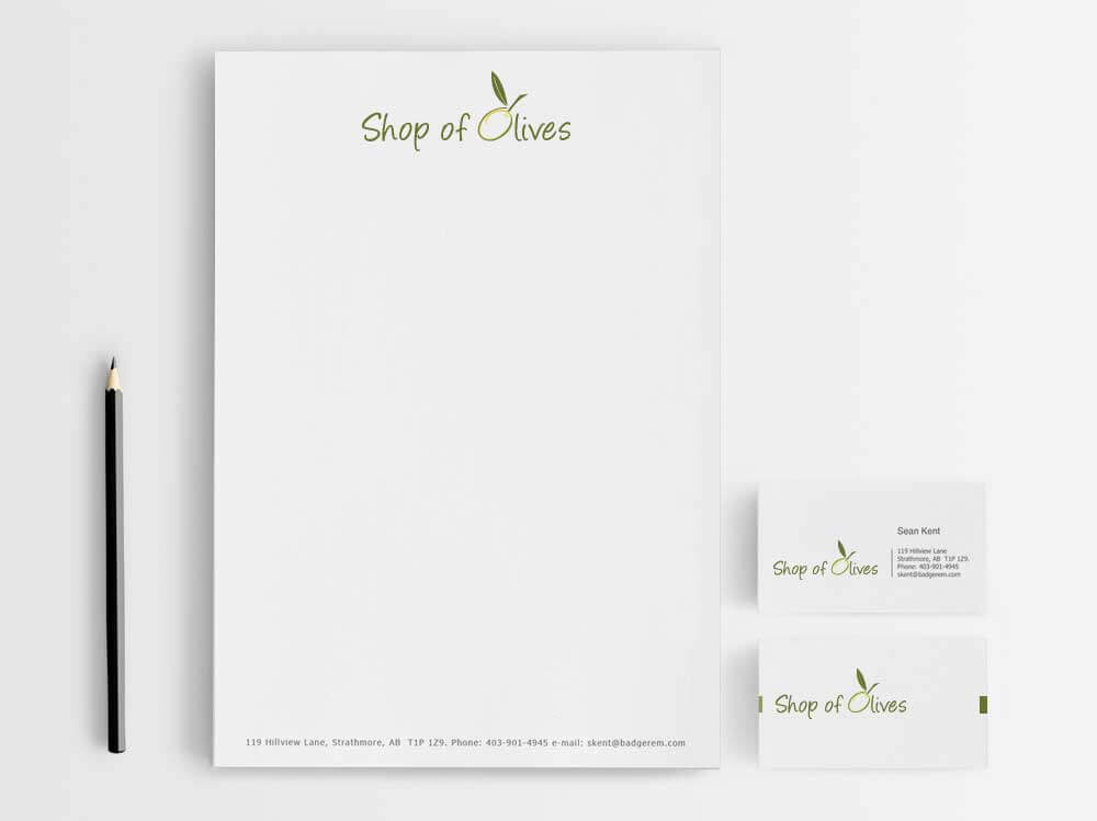 Creative corporate identity, branding, stationery design