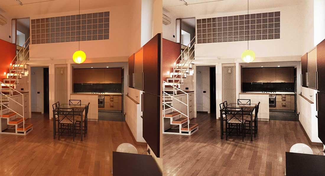 Real estate photo editing, photo retouching services