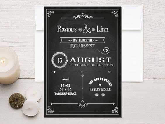 Party design invitation