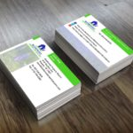 Custom business cards blue-bonnet