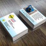 Custom business cards flood-doctors
