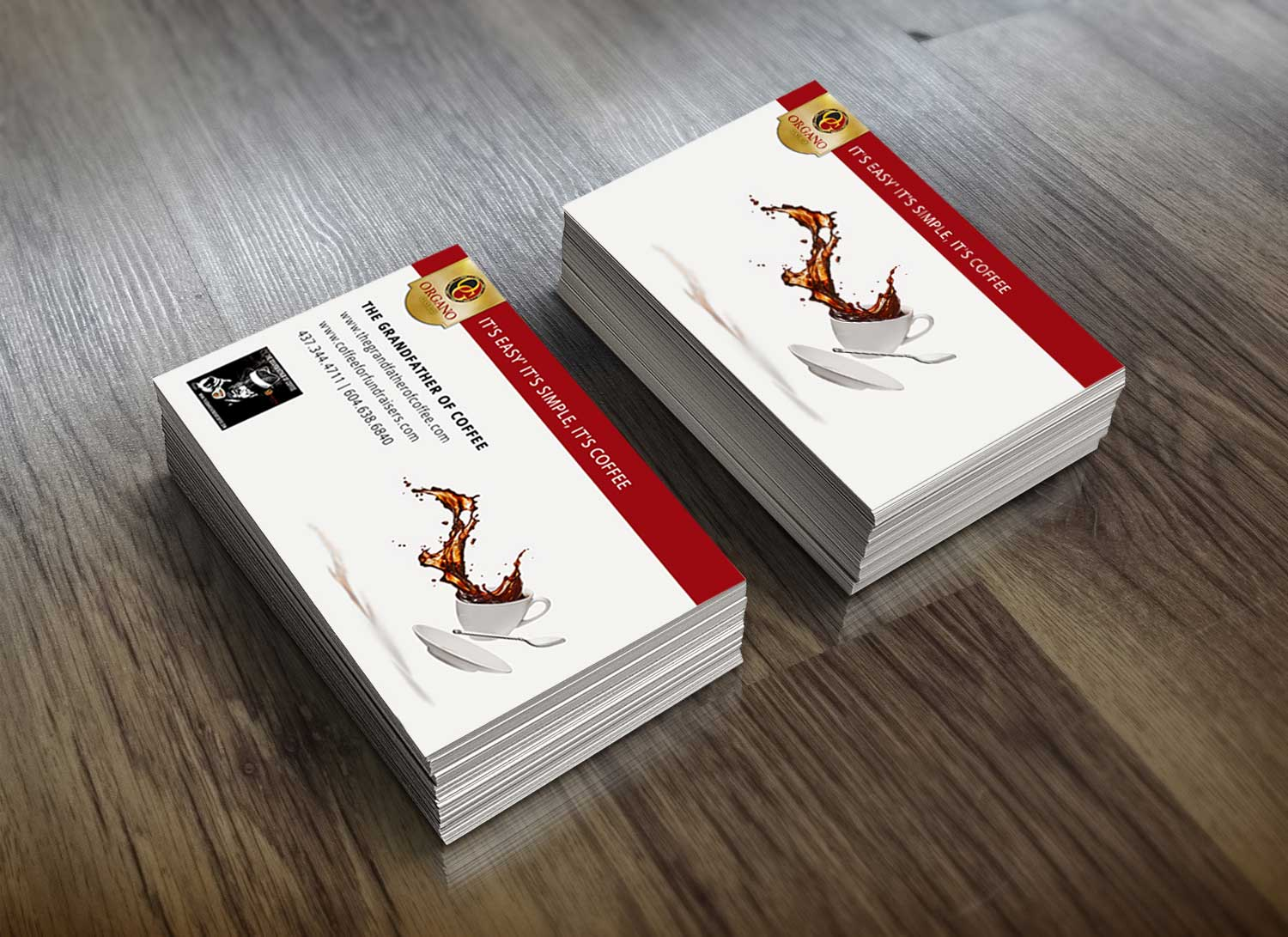 Customized creative business cards designs services