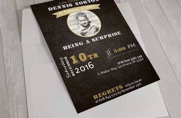 Professional Invitation design