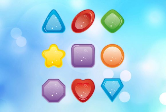 Digital design icons