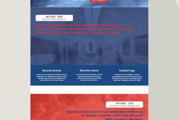 Landing page design templates