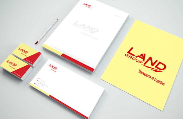 Creative corporate identity, stationery design