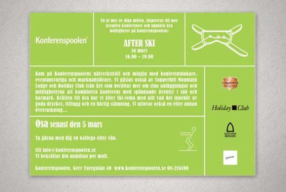 Invitations graphic design