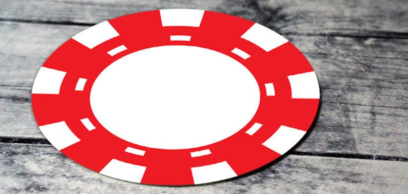 Drink coaster mockup design