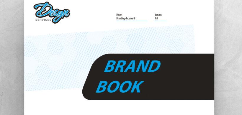 Brand guideline manual design