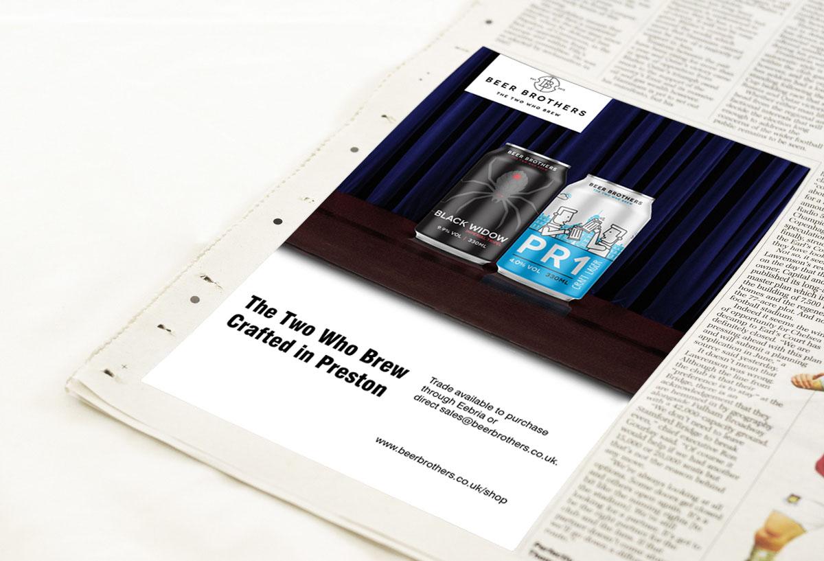 Graphic design advertising