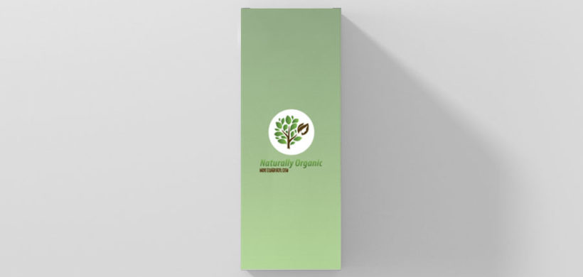 Custom professional box packaging design mockup