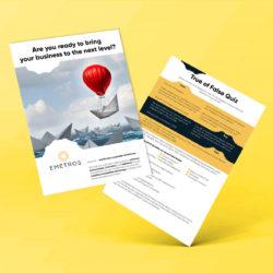 Freelance professional flyer graphic design service