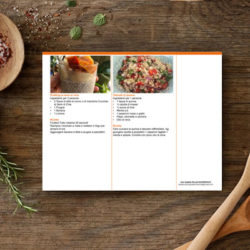 Custom recipes book design layouts