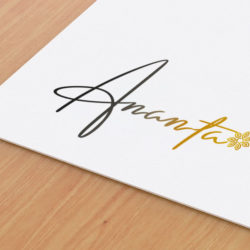 Creative letterhead logo graphic design