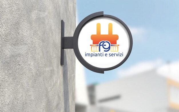 Tridimensional custom professional graphic design logo
