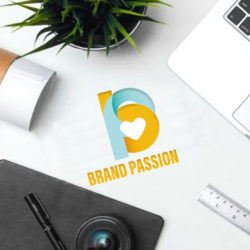 Creative letterhead logo graphic design