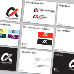 Brand guideline manual design