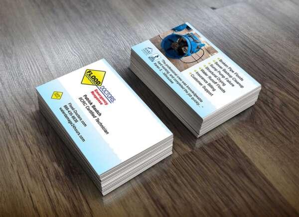 business card flood doctor