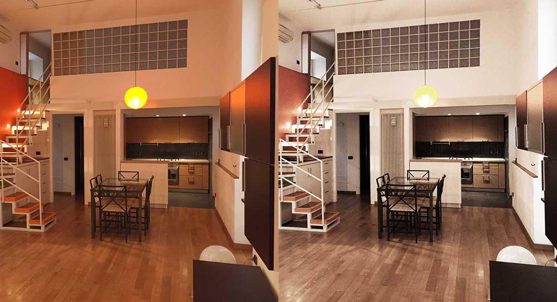 Real estate retouching