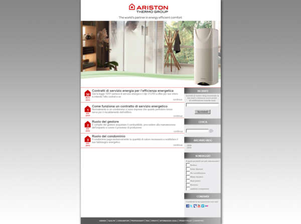 web page ariston